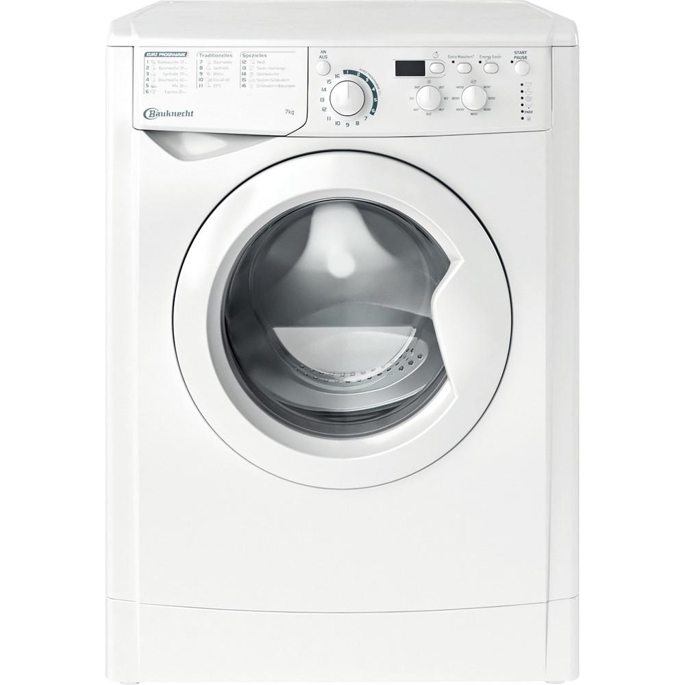 Bauknecht Waschmaschine Standgerät WM MT 7 IV N Weiss Frontlader A+++ Frontal