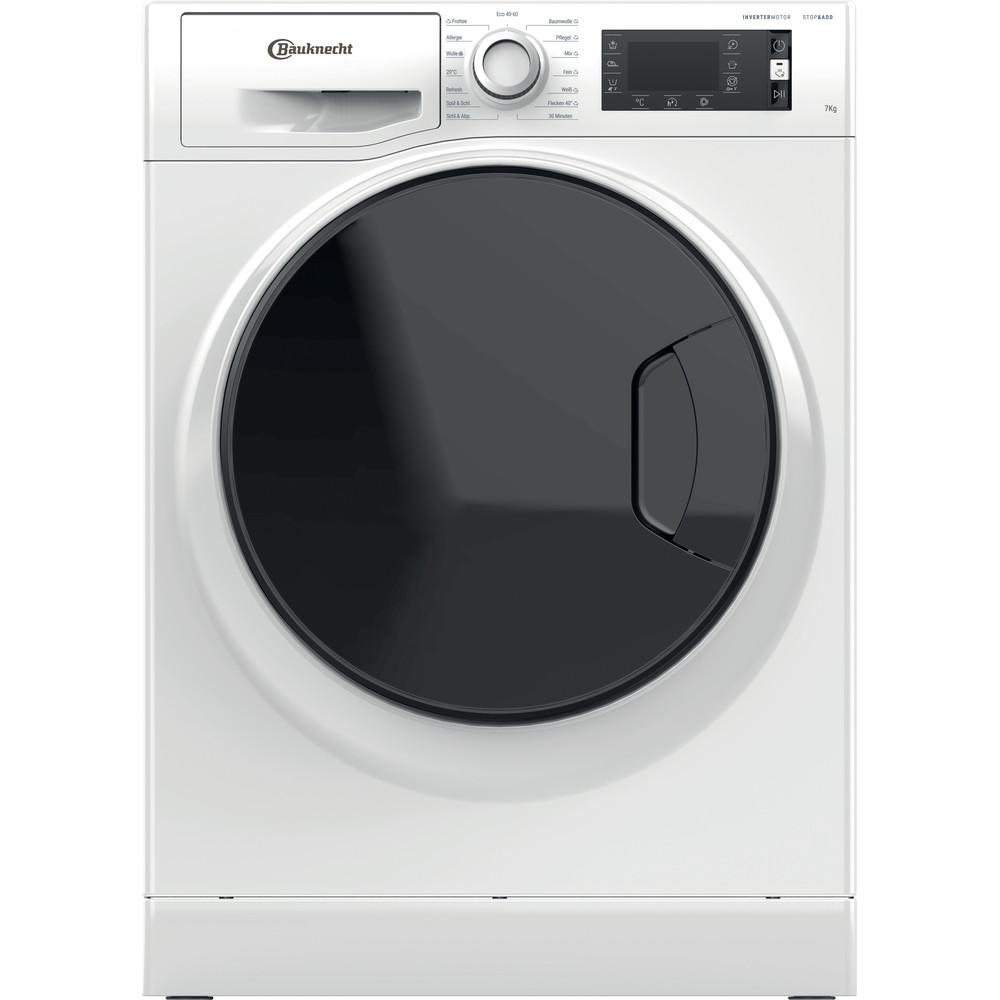 Bauknecht Waschmaschine Standgerät W Active 722 C Weiss Frontlader A+++ Frontal