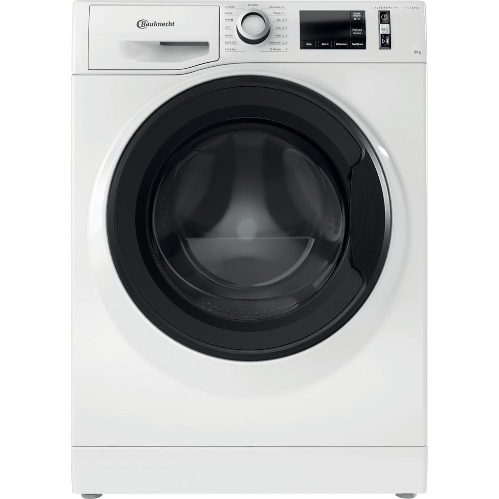 Bauknecht Waschmaschine Standgerät Super Eco 8421 Weiss Frontlader B Frontal