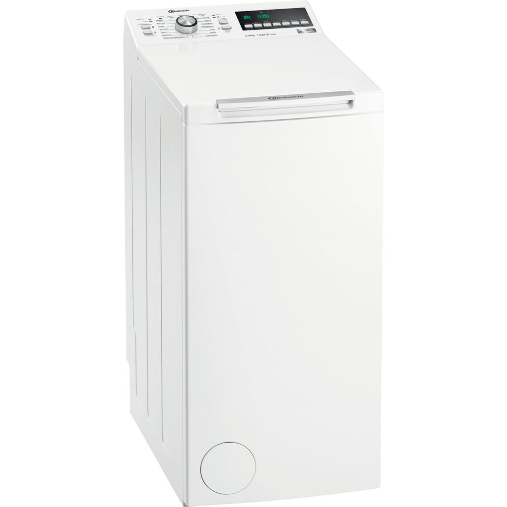 Bauknecht Waschmaschine Standgerät WAT 6513 DD Weiss Toplader A+++ Perspective