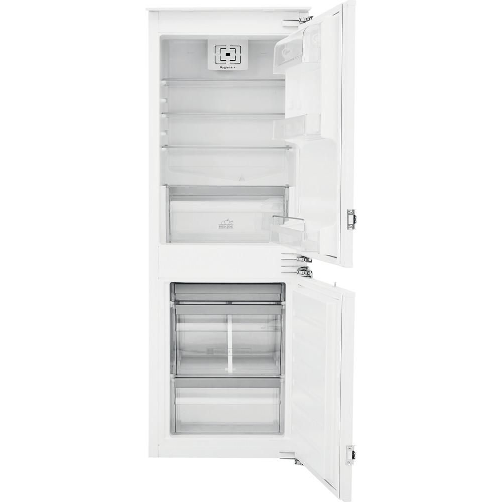 Bauknecht Kühl- / Gefrierkombination Einbaugerät KGIE 2164 A++ Stahl 2 doors Frontal open