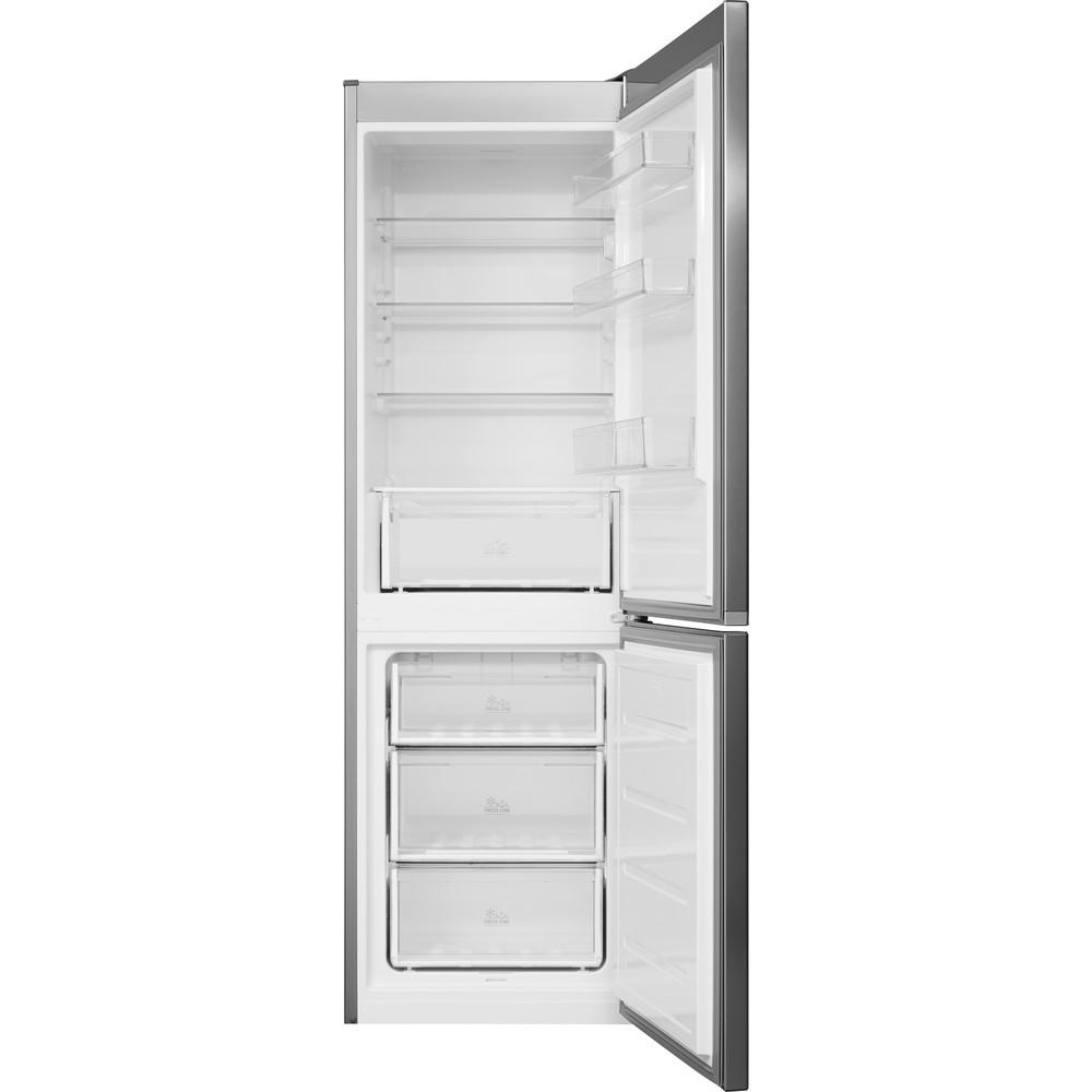 Bauknecht Kühl- / Gefrierkombination Standgerät KGL 1820 IN 2 Optic Inox 2 doors Frontal open
