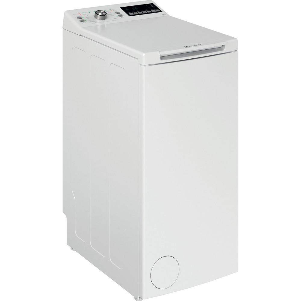 Bauknecht Waschmaschine Standgerät WTL 56312 N Weiss Toplader A+++ Perspective