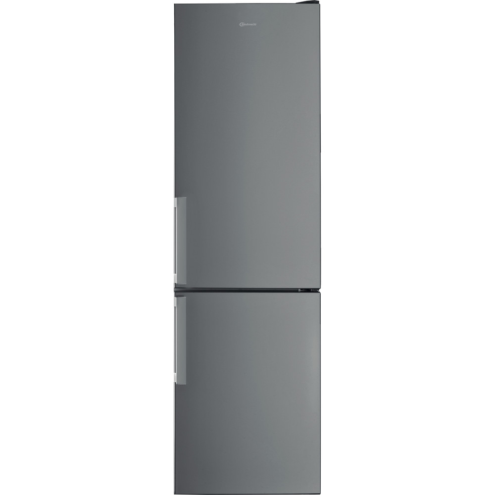 Bauknecht Kühl- / Gefrierkombination Standgerät KGS 2020G IN 2 Optic Inox 2 doors Frontal