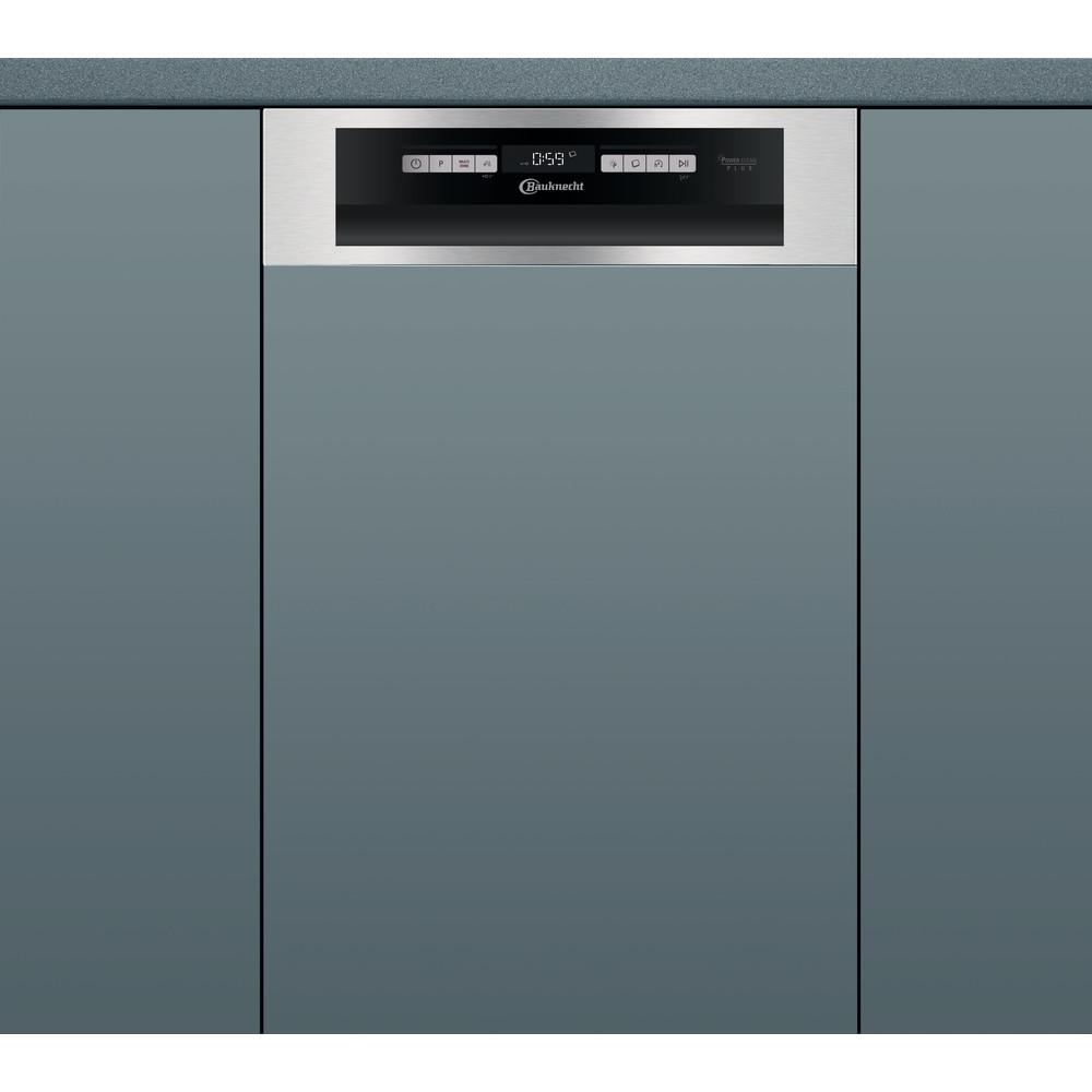 Bauknecht Dishwasher Einbaugerät BSBO 3O21 PF X Teilintegriert A++ Frontal