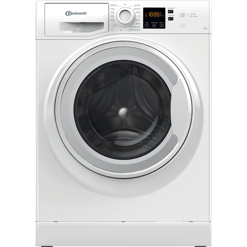 Bauknecht Waschmaschine Standgerät BPW 814 Weiss Frontlader A+++ Frontal
