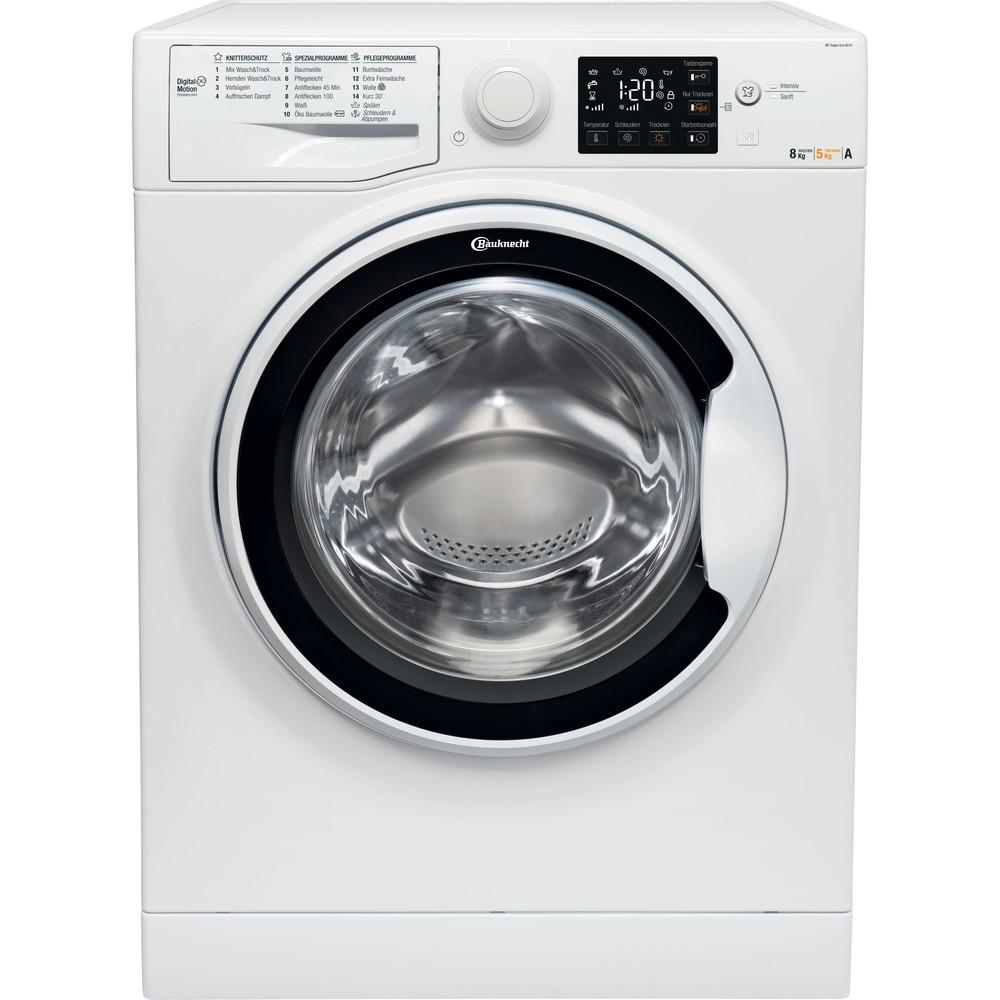 Bauknecht Waschtrockner Standgerät WT Super Eco 8514 Weiss Frontlader Frontal
