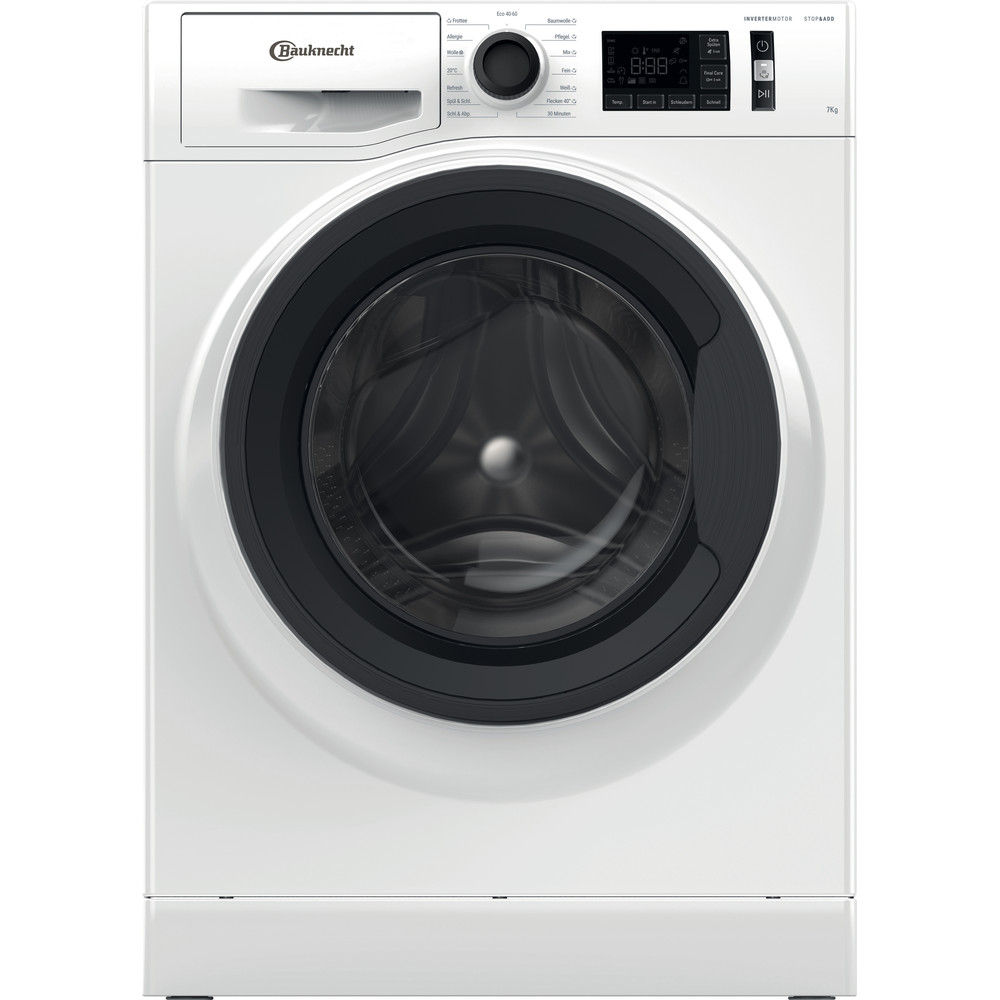 Bauknecht Waschmaschine Standgerät WM Elite 711 C Weiss Frontlader A+++ Frontal