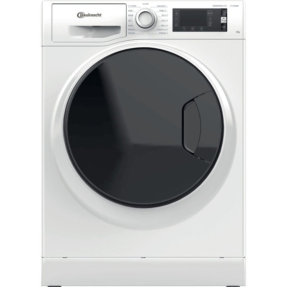 Bauknecht Waschmaschine Standgerät WM Elite 823 PS Weiss Frontlader A+++ Frontal