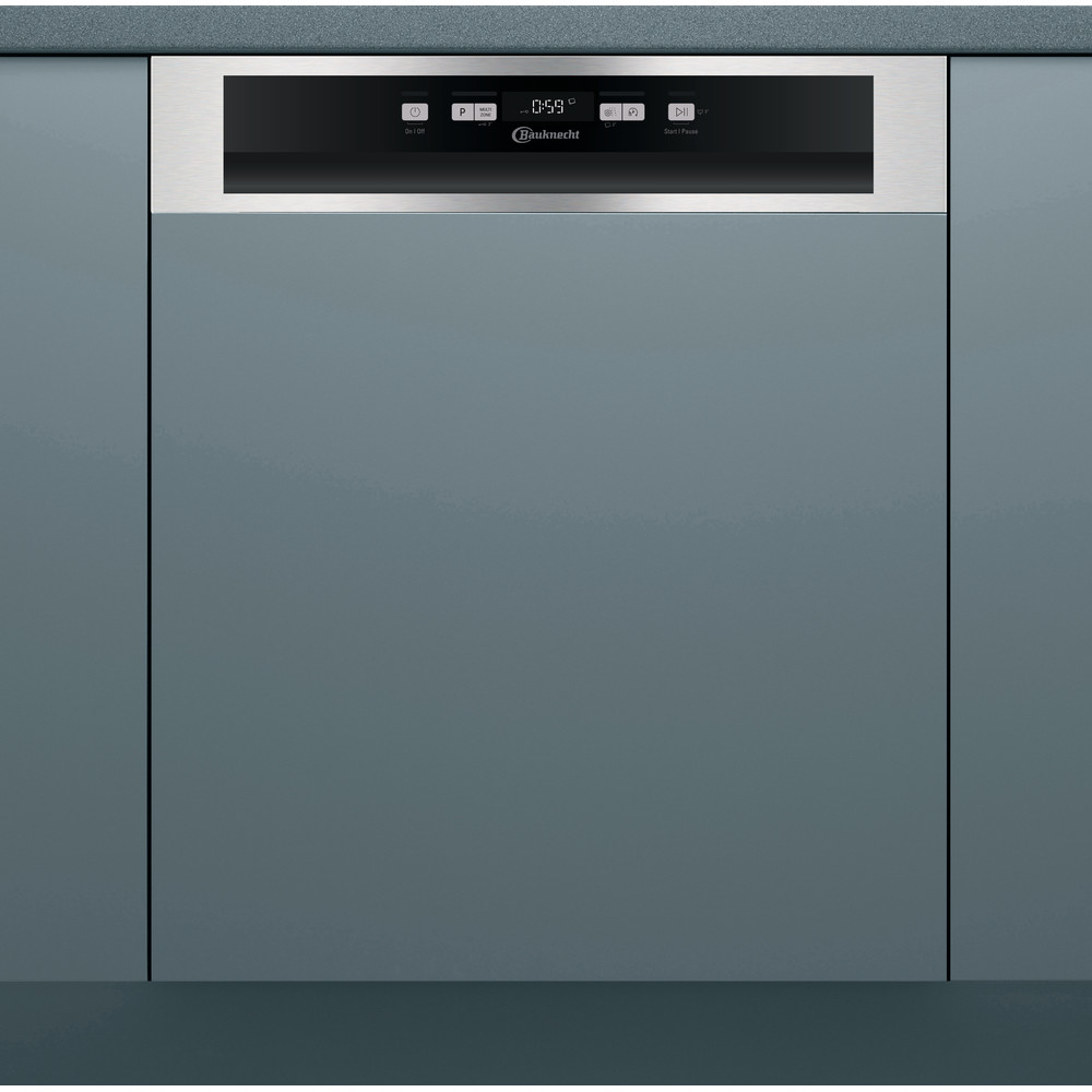 Bauknecht Dishwasher Einbaugerät OBBC Ecostar 5320 Teilintegriert D Frontal