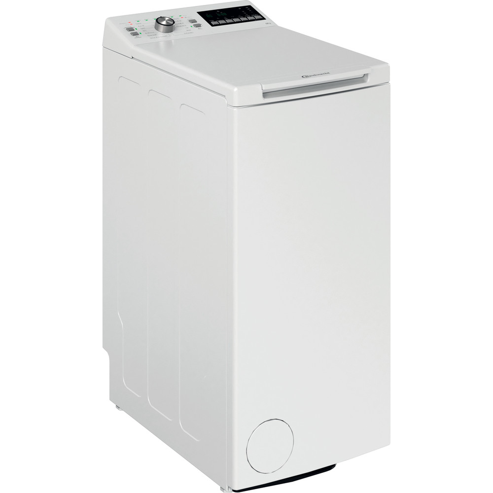 Bauknecht Waschmaschine Standgerät WAT 619 EX N Weiss Toplader A+++ Perspective