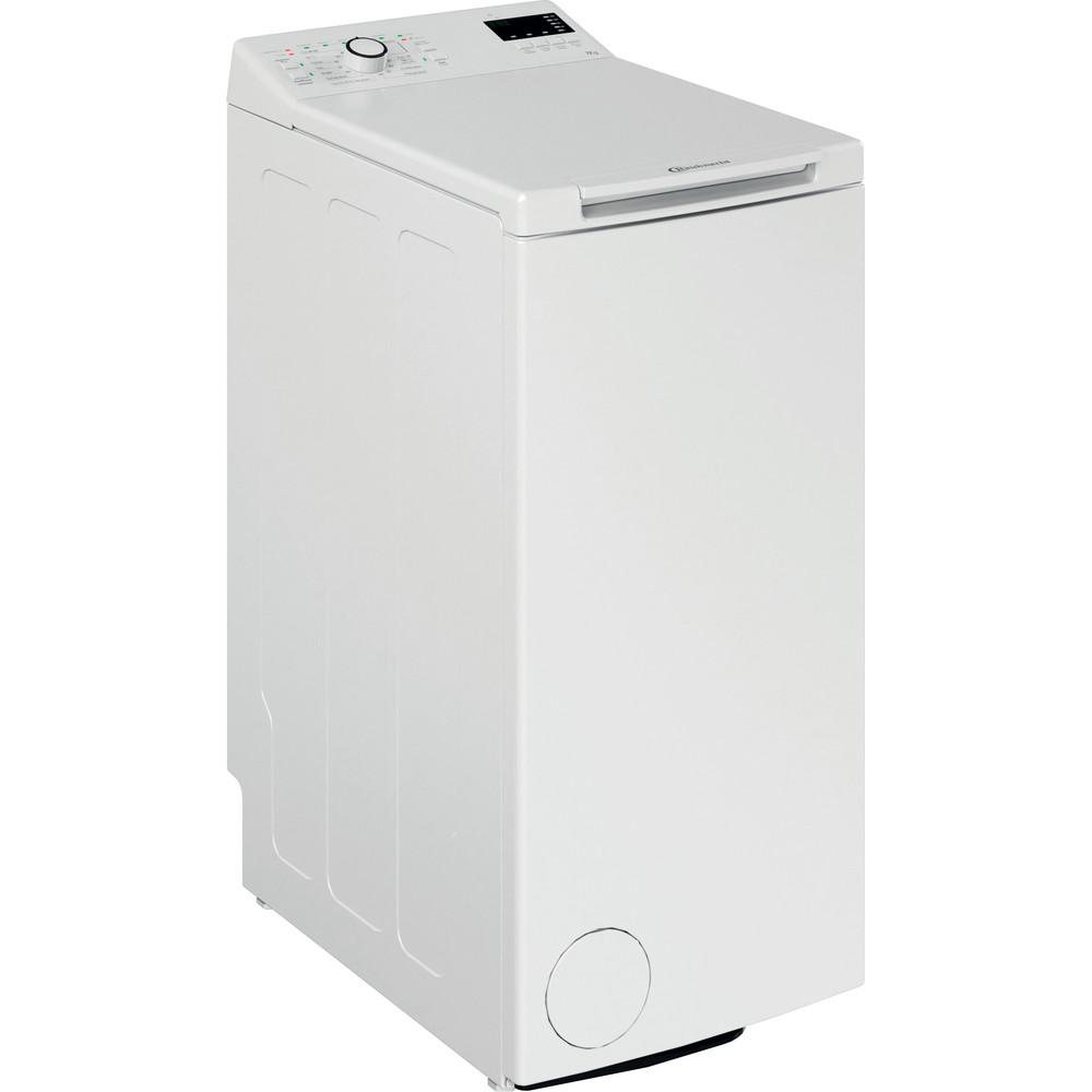 Bauknecht Waschmaschine Standgerät WMT EcoStar 732 Di N Weiss Toplader A+++ Perspective