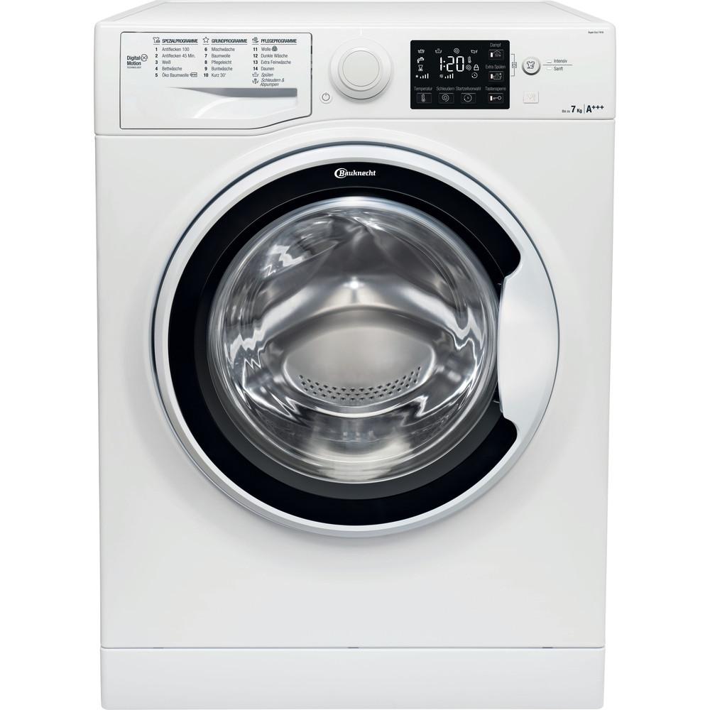 Bauknecht Waschmaschine Standgerät Super Eco 7418 Weiss Frontlader A+++ Frontal