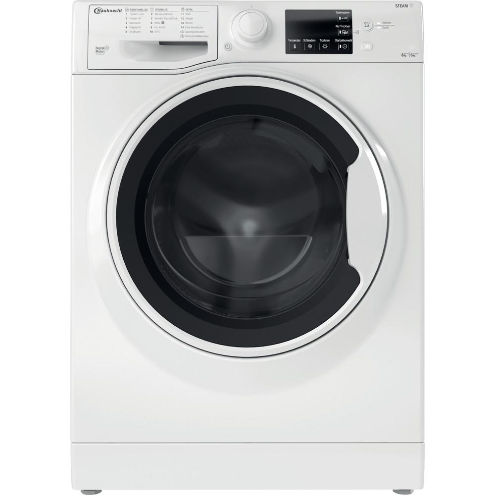 Bauknecht Waschtrockner Standgerät WT 86G4 DE N Weiss Frontlader Frontal