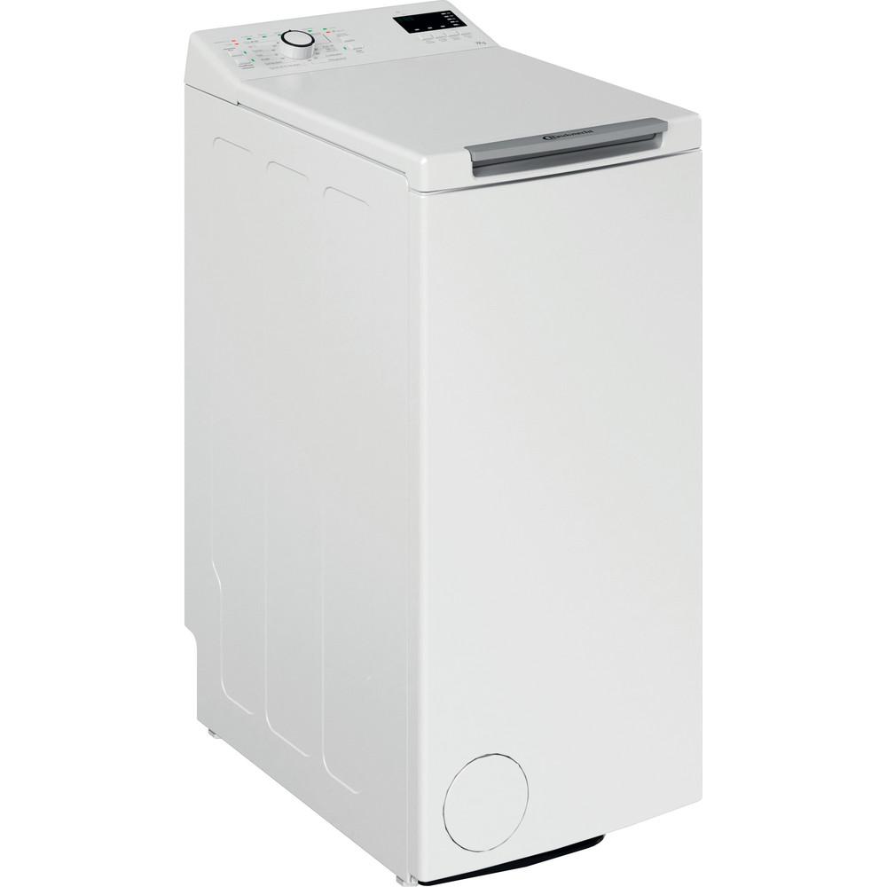Bauknecht Waschmaschine Standgerät WMT Pro 7U SD N Weiss Toplader A+++ Perspective